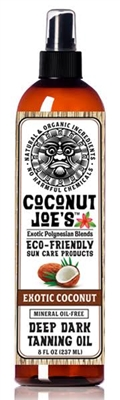 Exotic Coconut Dark Tanning Oil